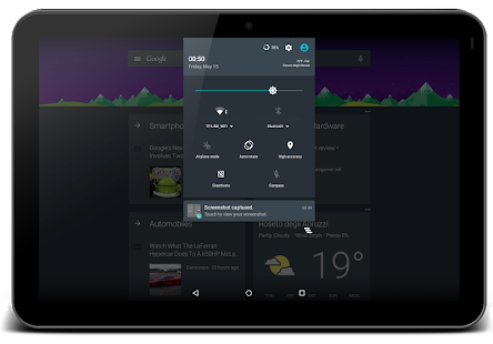 Dark Theme CM13/12.x Stock- screenshot thumbnail