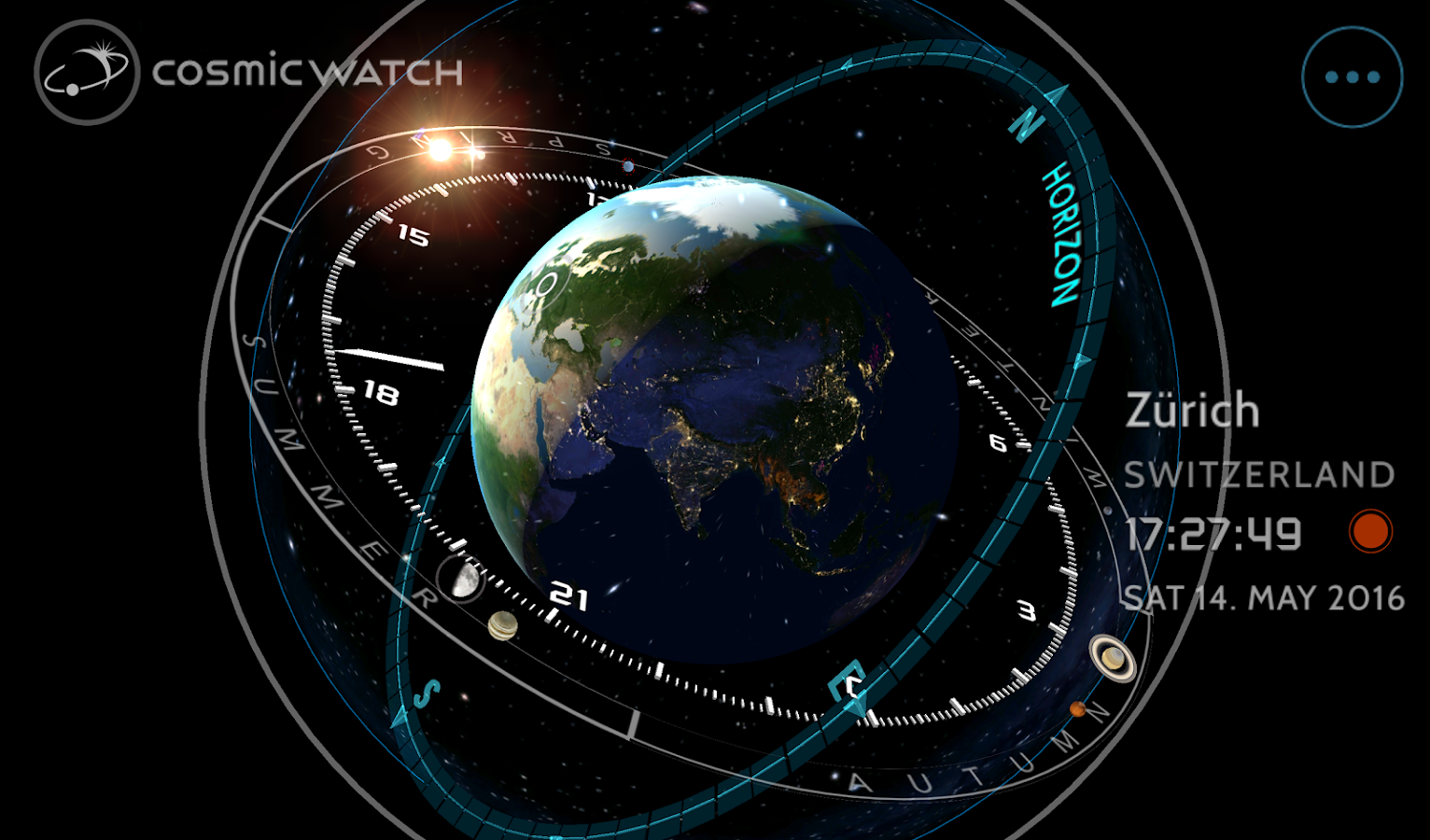 Cosmic-Watch Screenshot 14