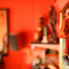 bokeh doll by Roberto Gonzalo - Artistic Objects Toys ( doll, bokeh,  )
