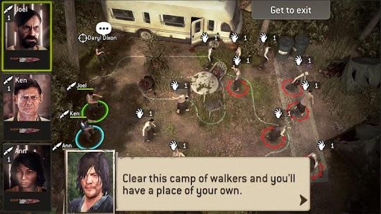 The Walking Dead No Man's Land- screenshot