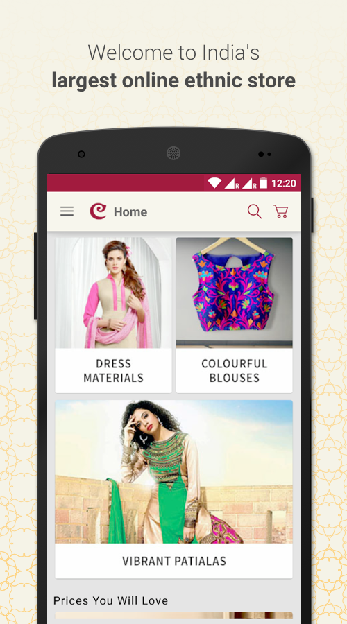 Craftsvilla - Online Shopping Screenshot