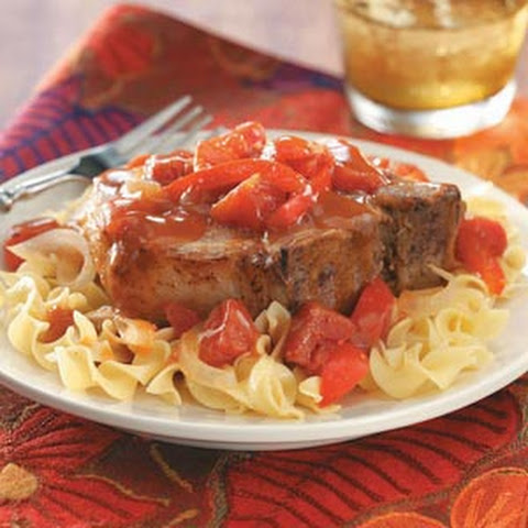 Tangy Tomato Pork Chops