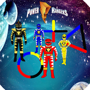 Download Power Galaxy Rangers color For PC Windows and Mac