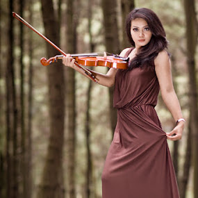 When Harmony meets beauty in nature by Dito Hendarto - People Musicians & Entertainers