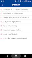 Screenshot of VLT