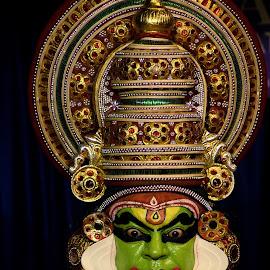 Kathakali : The Art of Non-Worldly  by Alolika Ghorui - People Professional People ( #kathakalidance #indianculture #kerala:godsowncountry #indianculture, #natgeotravels #travelphotography #faceofkerala )