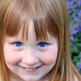 Bright  by Cameron  Cleland - Babies & Children Child Portraits ( sweet, color, flowers )