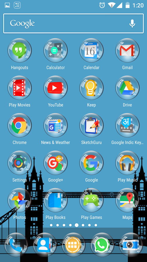 Glass 3D Icon Pack Screenshot 7