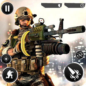 Frontline Fury Grand Shooter V2- Free FPS Game Icon