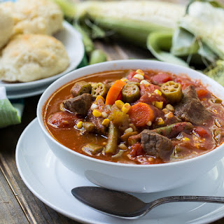Vegetable Beef Soup With Chicken Broth Recipes