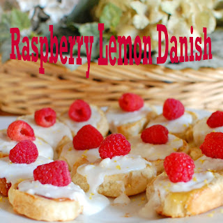 Raspberry Lemon Danish
