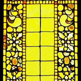 Tiffany Stained Glass Window 1 by RMC Rochester - Buildings & Architecture Architectural Detail ( abstract, window, colors, random, architecture )