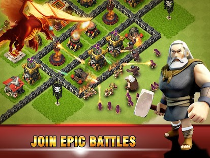 Era of War:Clash of epic Clans Screenshot