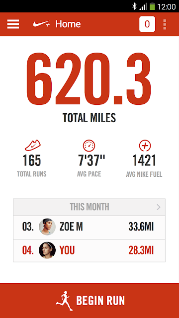 Nike+ Running screenshots
