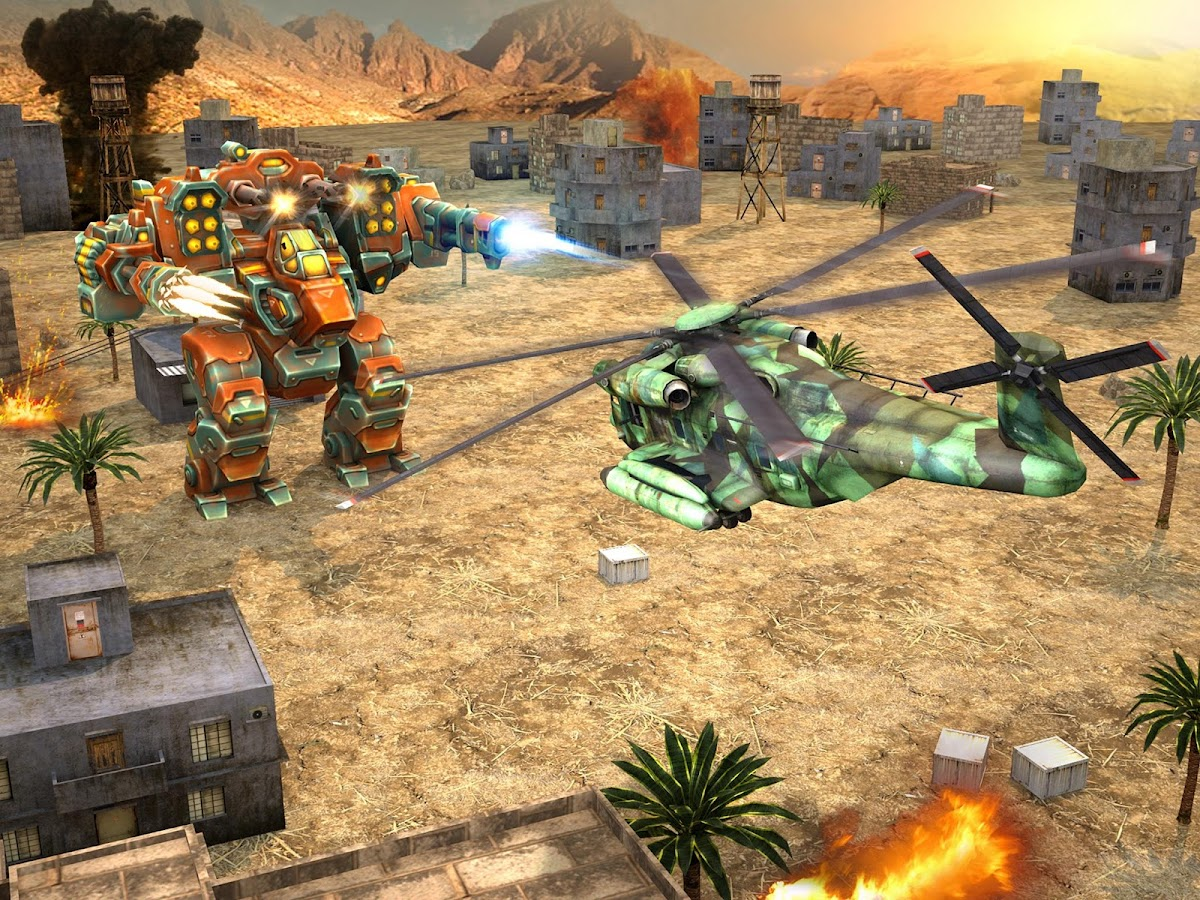 Copter vs Aliens Screenshot 5