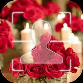Download Romantic Rose Facelock theme APK for Laptop
