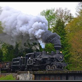 Cass West Virginia by Will Zook - Transportation Trains