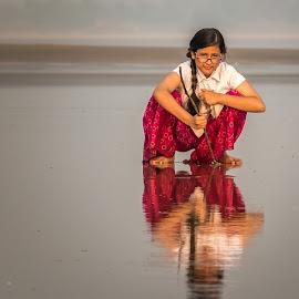 by Amrita Bhattacharyya - Babies & Children Children Candids