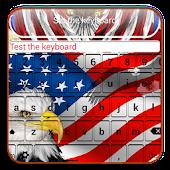 American Flag Keyboard Themes APK for Bluestacks