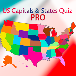 US States and Capitals PRO For PC