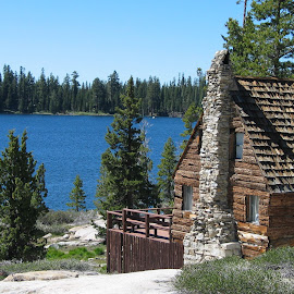 Summer Cabin on Loon Lake by Christine B. - Buildings & Architecture Other Exteriors ( crystal basin, cabin, loon lake, california, summer )
