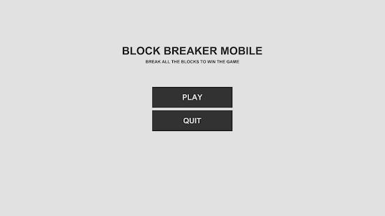 Block Breaker Mobile - screenshot