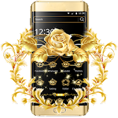 App Gold Rose Theme Luxury Gold APK for Windows Phone