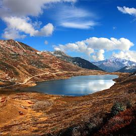 KUPUP LAKE ( SIKIM) by Samiran Majumder - Landscapes Mountains & Hills