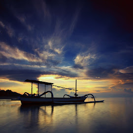 morning glow by Arek Embongan - Landscapes Sunsets & Sunrises