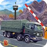 Drive Army Base Coach Truck Icon
