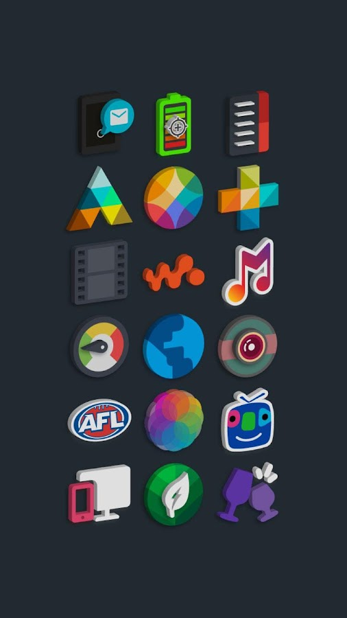 Tigad Pro Icon Pack Screenshot 11