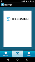 Screenshot of HelloSign