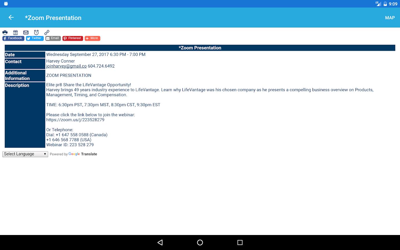 Big Blue Kalender Mobile android apps download