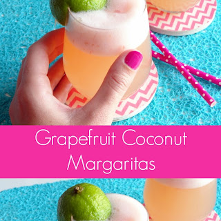 Grapefruit Coconut Margaritas