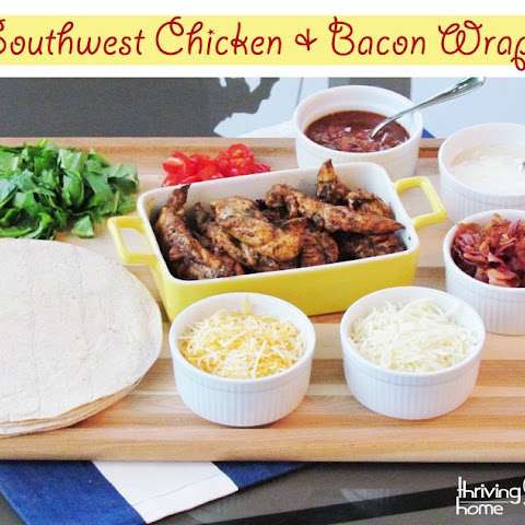 Southwest Chicken and Bacon Wrap