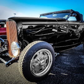 Black Rod by Ron Meyers - Transportation Automobiles