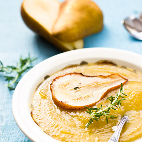Pear and Squash Soup with Rosemary
