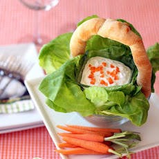 Bunny Carrot Dip & Easter Bread Basket!