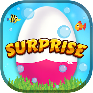 Surprise Eggs - Underwater