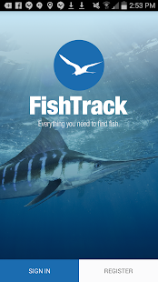 FishTrack - Fishing Charts screenshot for Android