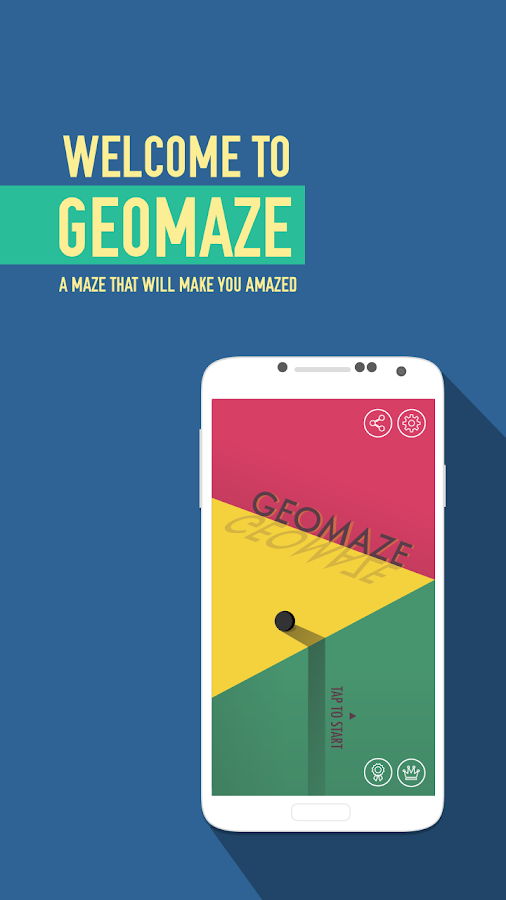 GeoMaze Screenshot