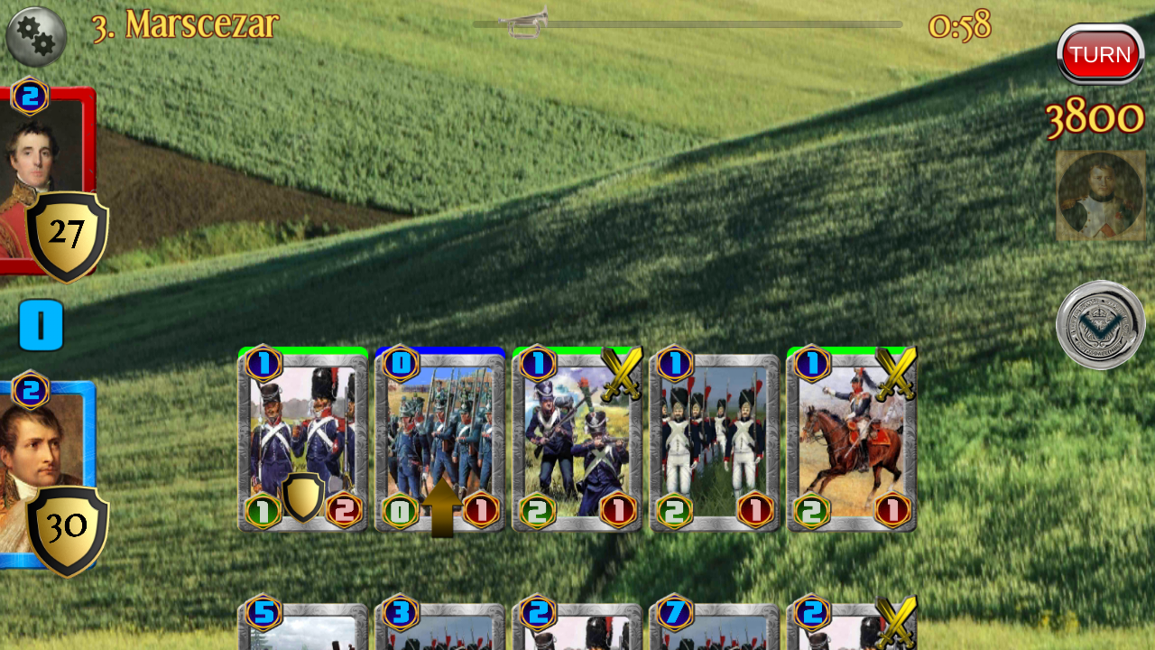 Napoleon War Cards Screenshot 16