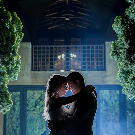 Darkness fell by Lodewyk W Goosen (LWG Photo) - Wedding Bride & Groom ( wedding photography, wedding day, bride and groom, wedding photographer, bride, groom )