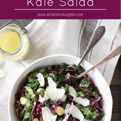 Sweet and Crunchy Kale Salad
