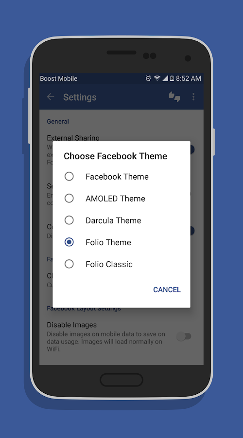 Folio Pro for Facebook Screenshot 2