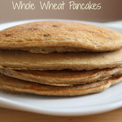 The Best Low Fat Whole Wheat Pancakes