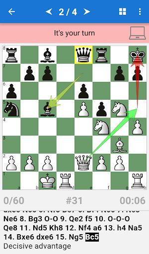 Chess Opening Lab (1400-2000) - screenshot