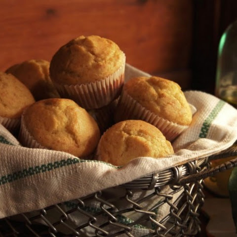 Olive Oil and Honey Muffins