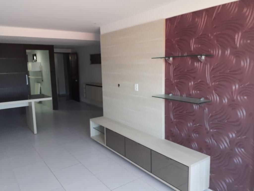 Apartamento com 3 dormitórios à venda, 102 m² por R$ 360.000 - Bessa - João Pessoa/PB