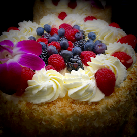 Berry Cake by Lope Piamonte Jr - Food & Drink Cooking & Baking